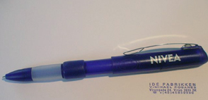The pen with pop up stamp